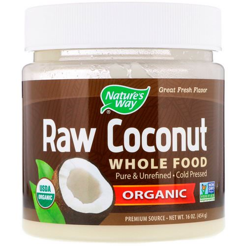 Nature's Way, Organic Raw Coconut Whole Food, 16 oz (454 g) Review