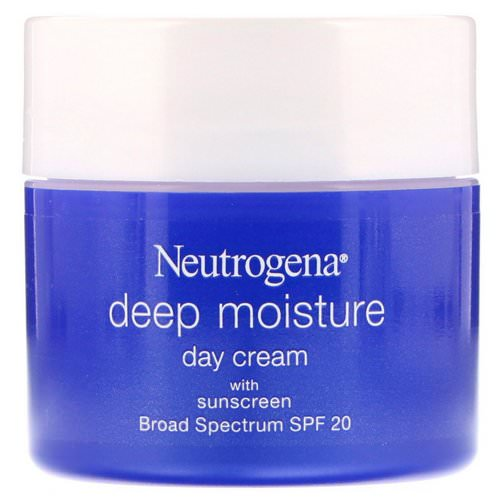 Neutrogena, Deep Moisture, Day Cream with Sunscreen, Broad Spectrum SPF 20, 2.25 oz (63 g) Review