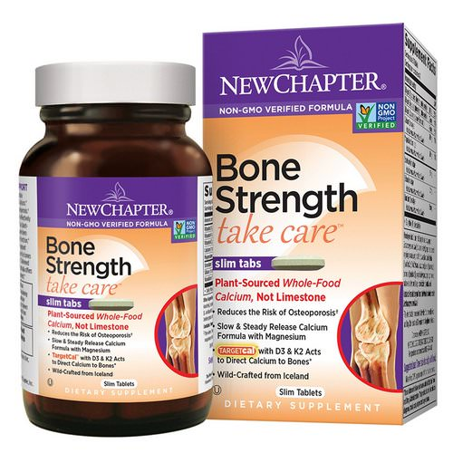 New Chapter, Bone Strength Take Care, 120 Slim Tablets Review