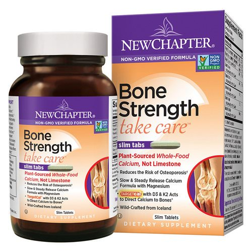New Chapter, Bone Strength Take Care, 180 Slim Tablets Review
