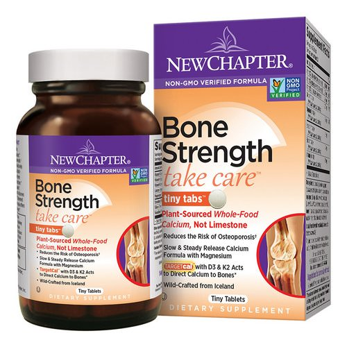 New Chapter, Bone Strength Take Care, 240 Tiny Tablets Review