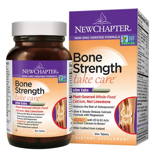 New Chapter, Bone Strength Take Care, 60 Slim Tablets Review