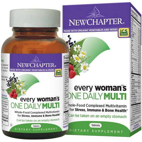 New Chapter, Every Woman's One Daily Multi, 72 Tablets Review