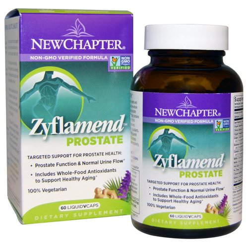 New Chapter, Zyflamend Prostate, 60 Vegetarian Capsules Review