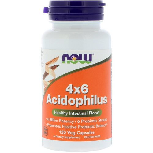 Now Foods, 4x6 Acidophilus, 120 Veg Capsules Review