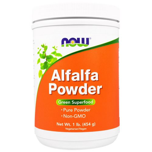 Now Foods, Alfalfa Powder, 1 lb (454 g) Review