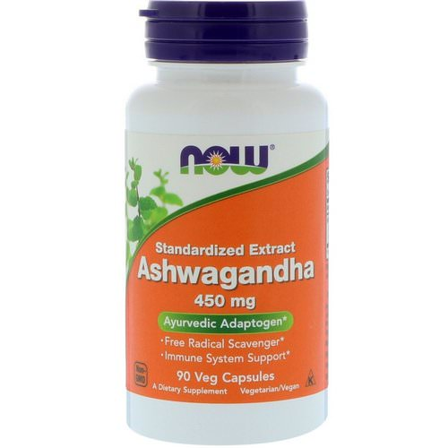 Now Foods, Ashwagandha, 450 mg, 90 Veg Capsules Review
