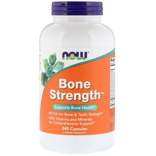 Now Foods, Bone Strength, 240 Capsules Review
