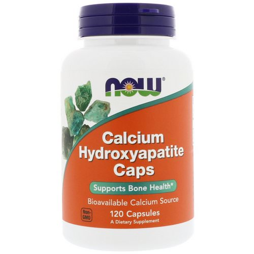 Now Foods, Calcium Hydroxyapatite Caps, 120 Capsules Review