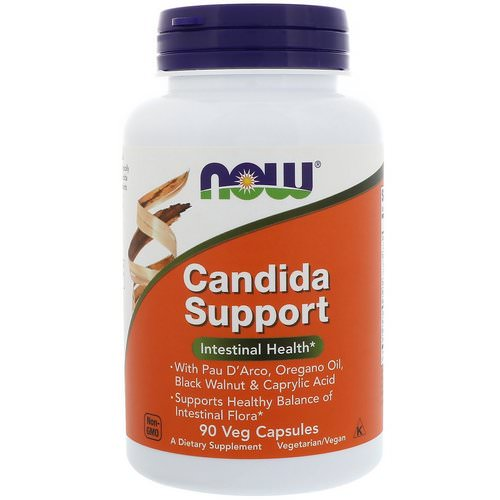 Now Foods, Candida Support, 90 Veg Capsules Review