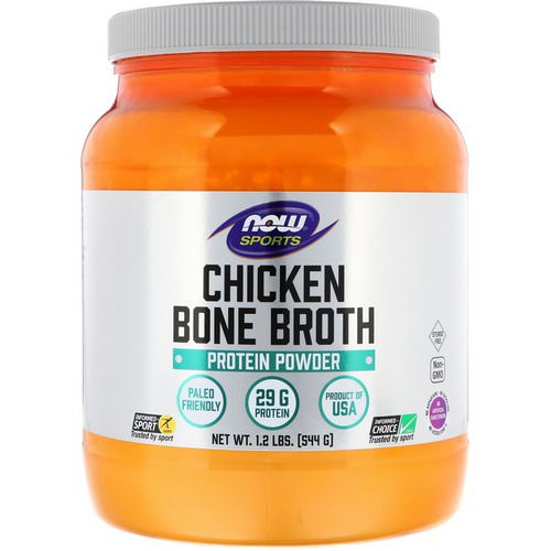 Now Foods, Chicken Bone Broth, 1.2 lbs (544 g) Review