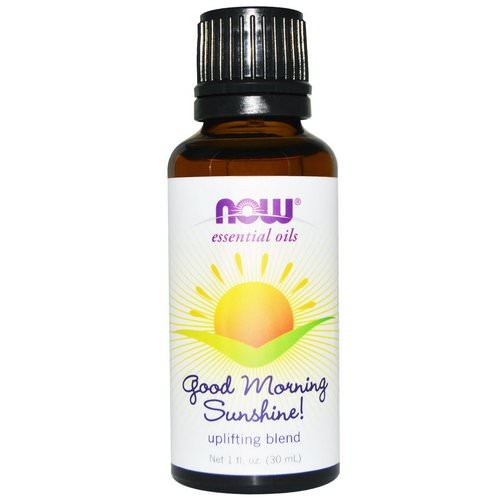 Now Foods, Essential Oils, Good Morning Sunshine, Uplifting Blend, 1 fl oz (30 ml) Review