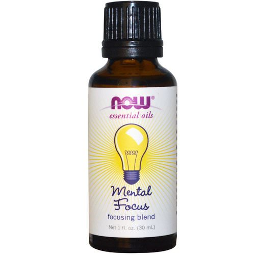 Now Foods, Essential Oils, Mental Focus, 1 fl oz (30 ml) Review