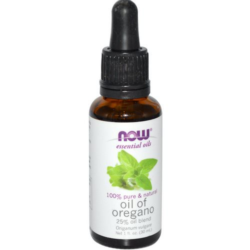 Now Foods, Essential Oils, Oil of Oregano, 1 fl oz (30 ml) Review
