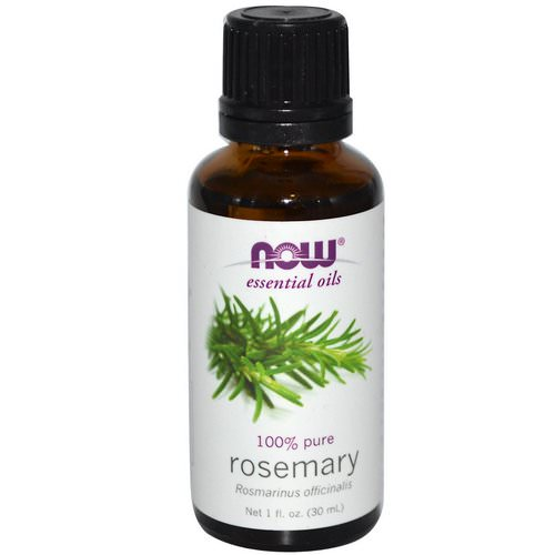Now Foods, Essential Oils, Rosemary, 1 fl oz (30 ml) Review