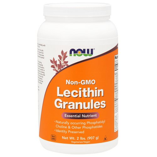 Now Foods, Lecithin Granules, Non-GMO, 2 lbs (907 g) Review