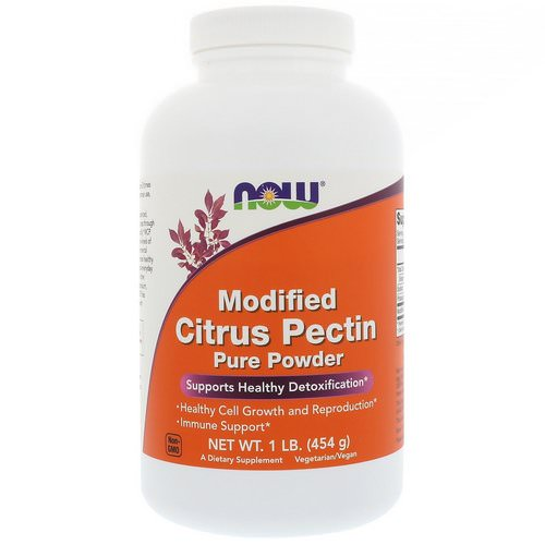 Now Foods, Modified Citrus Pectin, Pure Powder, 1 lb (454 g) Review