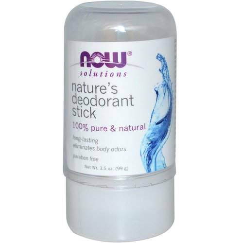 Now Foods, Nature's Deodorant Stick, 3.5 oz (99 g) Review