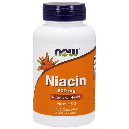 Now Foods, Niacin, 500 mg, 100 Capsules Review