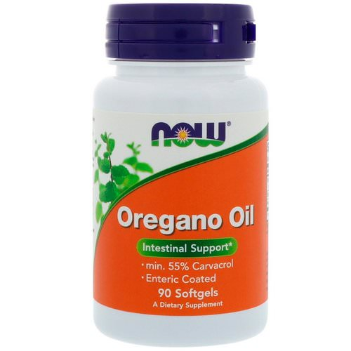 Now Foods, Oregano Oil, 90 Softgels Review