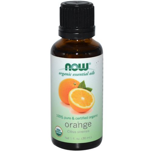 Now Foods, Organic Essential Oils, Orange, 1 fl oz (30 ml) Review