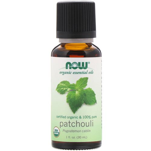 Now Foods, Organic Essential Oils, Patchouli, 1 fl oz (30 ml) Review