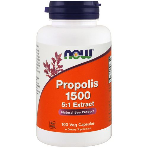 Now Foods, Propolis 1500, 300 mg, 100 Veg Capsules Review
