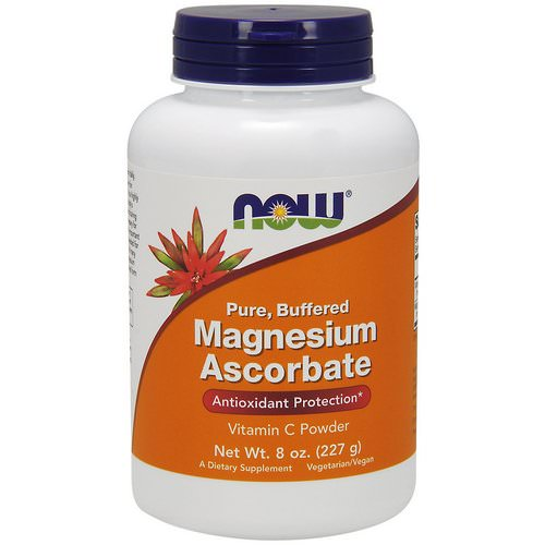 Now Foods, Pure, Buffered, Magnesium Ascorbate, 8 oz (227 g) Review