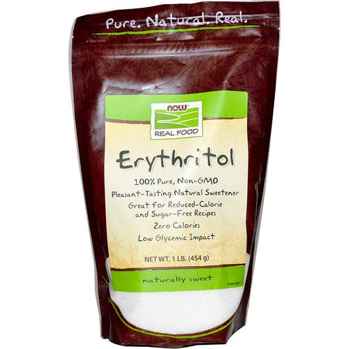 Now Foods, Real Food, Erythritol, Natural Sweetener, 1 lb (454 g) Review