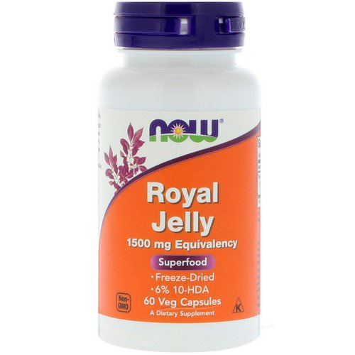 Now Foods, Royal Jelly, 60 Veg Capsules Review