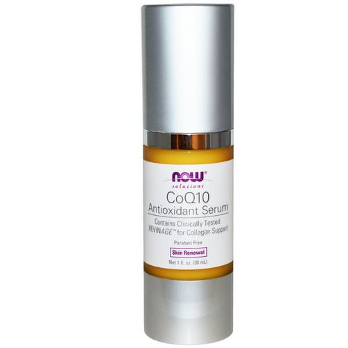 Now Foods, Solutions, CoQ10 Antioxidant Serum, 1 fl oz (30 ml) Review