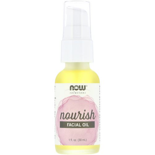 Now Foods, Solutions, Facial Oil, Nourish, 1 fl oz (30 ml) Review