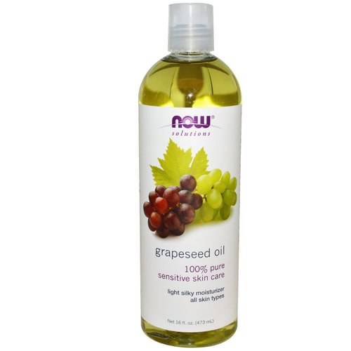 Now Foods, Solutions, Grapeseed Oil, 16 fl oz (473 ml) Review