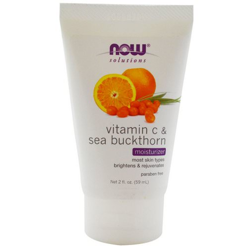 Now Foods, Solutions, Moisturizer, Vitamin C & Sea Buckthorn, 2 fl oz (59 ml) Review