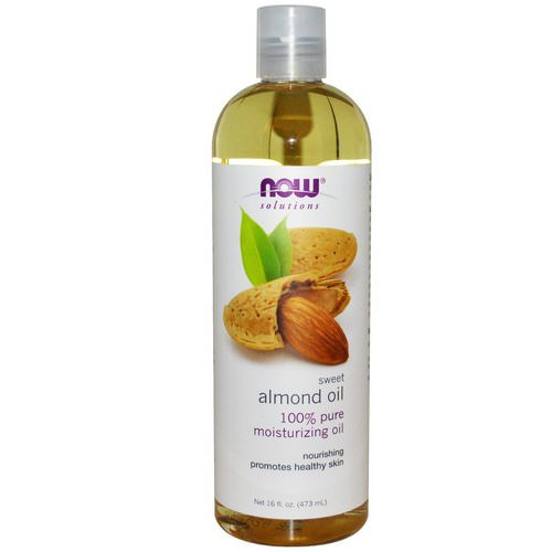 Now Foods, Solutions, Sweet Almond Oil, 16 fl oz (473 ml) Review