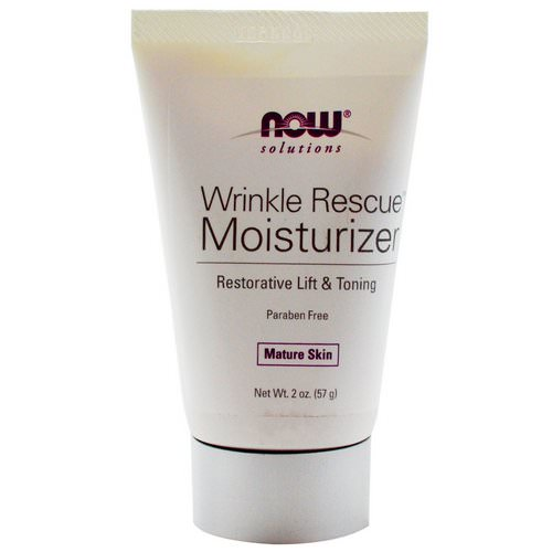 Now Foods, Solutions, Wrinkle Rescue Moisturizer, 2 oz (57 g) Review