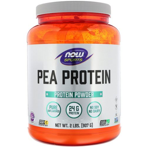 Now Foods, Sports, Pea Protein, Pure Unflavored, 2 lbs (907 g) Review