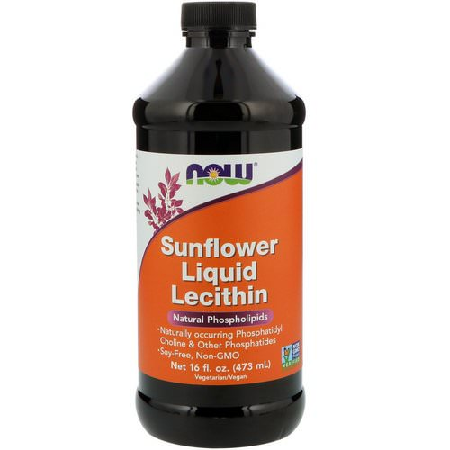 Now Foods, Sunflower Liquid Lecithin, 16 fl oz (473 ml) Review