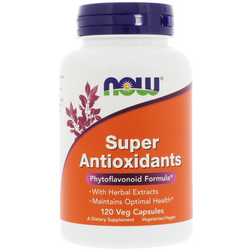 Now Foods, Super Antioxidants, 120 Veg Capsules Review