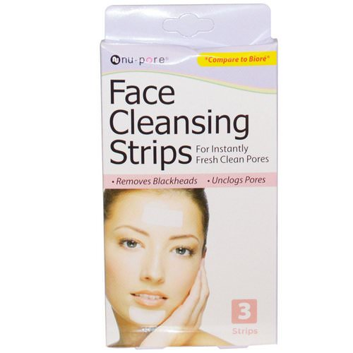 Nu-Pore, Face Cleansing Strips, 3 Strips Review