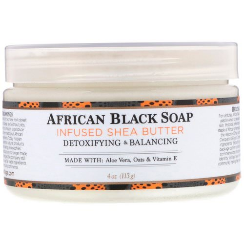 Nubian Heritage, Shea Butter, African Black Soap Infused, 4 oz (113 g) Review