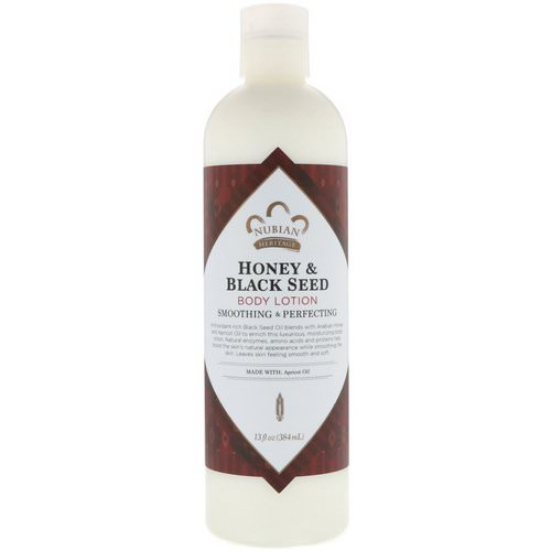 Nubian Heritage, Body Lotion, Honey & Black Seed, 13 fl oz (384 ml) Review