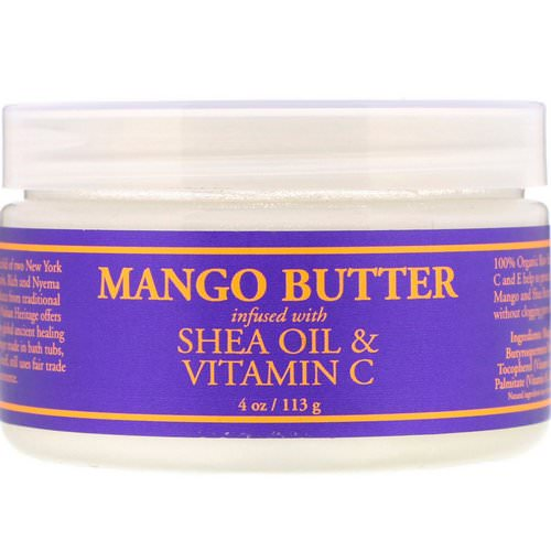 Nubian Heritage, Mango Butter Infused with Shea Oil & Vitamin C, 4 oz (113 g) Review