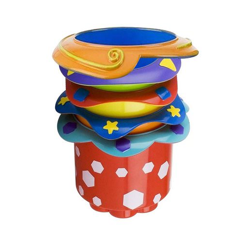 Nuby, Splish Splash Stacking Cups, 9 + Months, 5 Cups Review