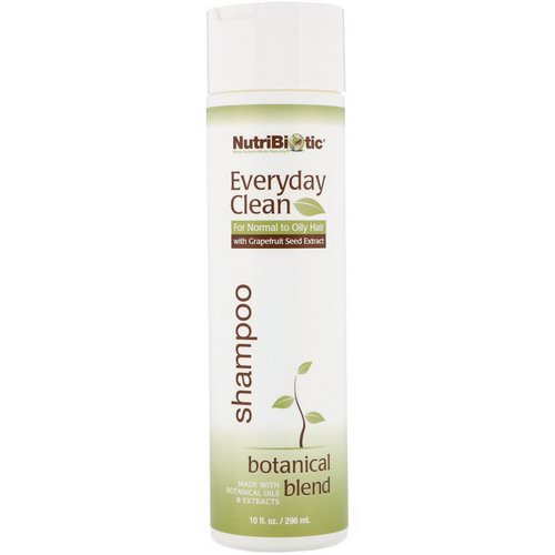 NutriBiotic, Everyday Clean, Shampoo, Botanical Blend, 10 fl oz (296 ml) Review
