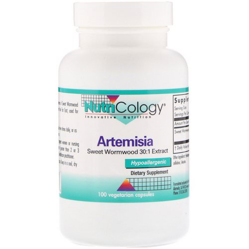 Nutricology, Artemisia, 100 Vegetarian Capsules Review