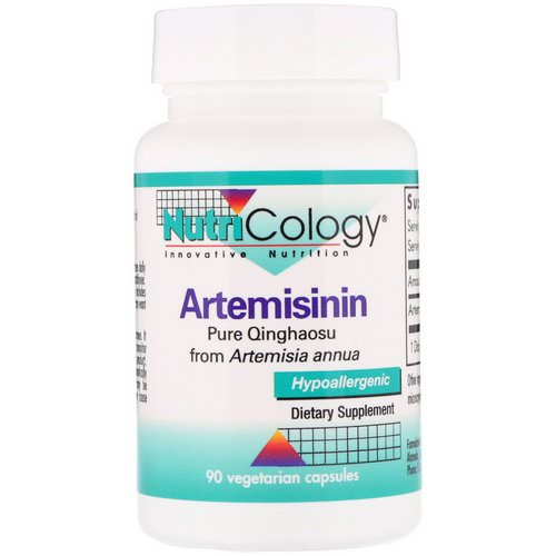 Nutricology, Artemisinin, 90 Vegetarian Capsules Review