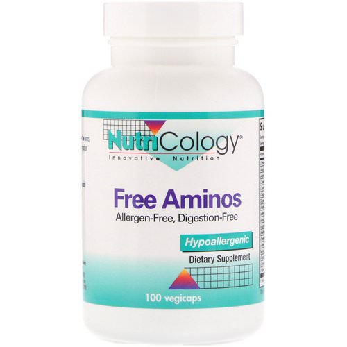 Nutricology, Free Aminos, 100 Veggie Caps Review