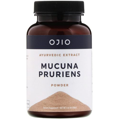 Ojio, Mucuna Pruriens Powder, 3.53 oz (100 g) Review