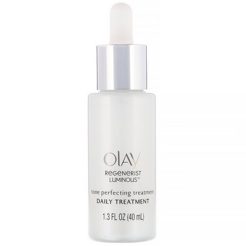 Olay, Regenerist Luminous, Tone Perfecting Treatment, 1.3 fl oz (40 ml) Review